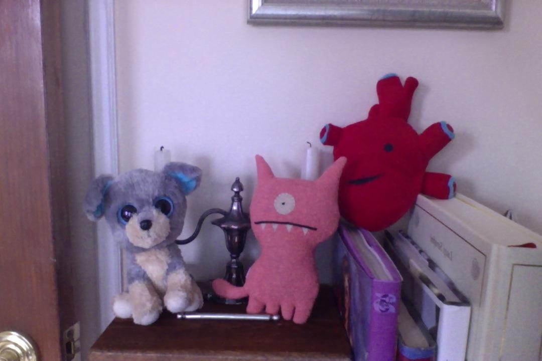 Pookie (L), Ugly (C) and Jones (R)