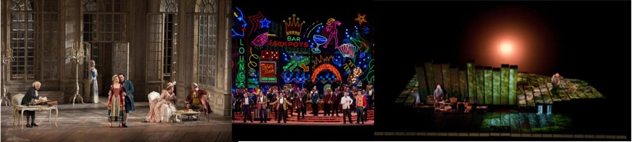 Figaro, Rigoletto and Siegfried at the Met