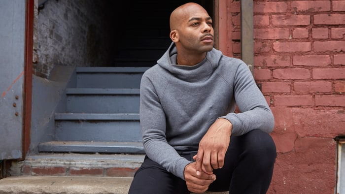Brandon V. Dixon: Nice publicity shot, by the way