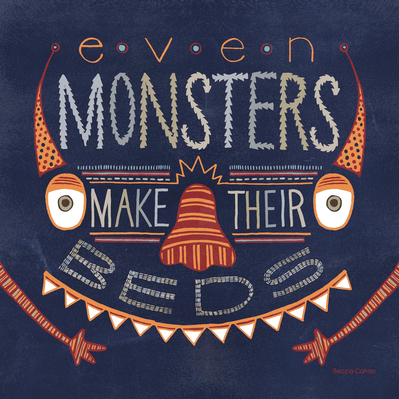 Becca Cahan Monsters Make Their Beds Target Print.jpg