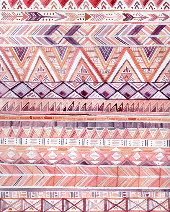 Becca Cahan Geometric Pattern