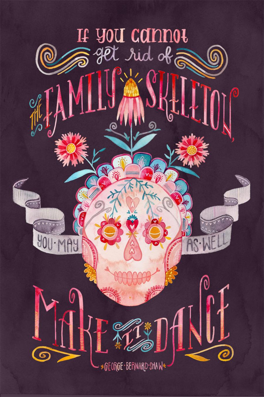 """""""Family Skeleton"""" by Becca Cahan"""