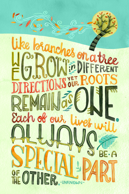 """We Grow"" by becca cahan"