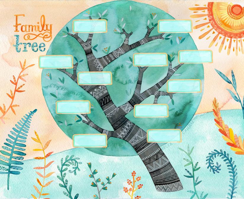 """""""Family Tree"""" by becca cahan"""