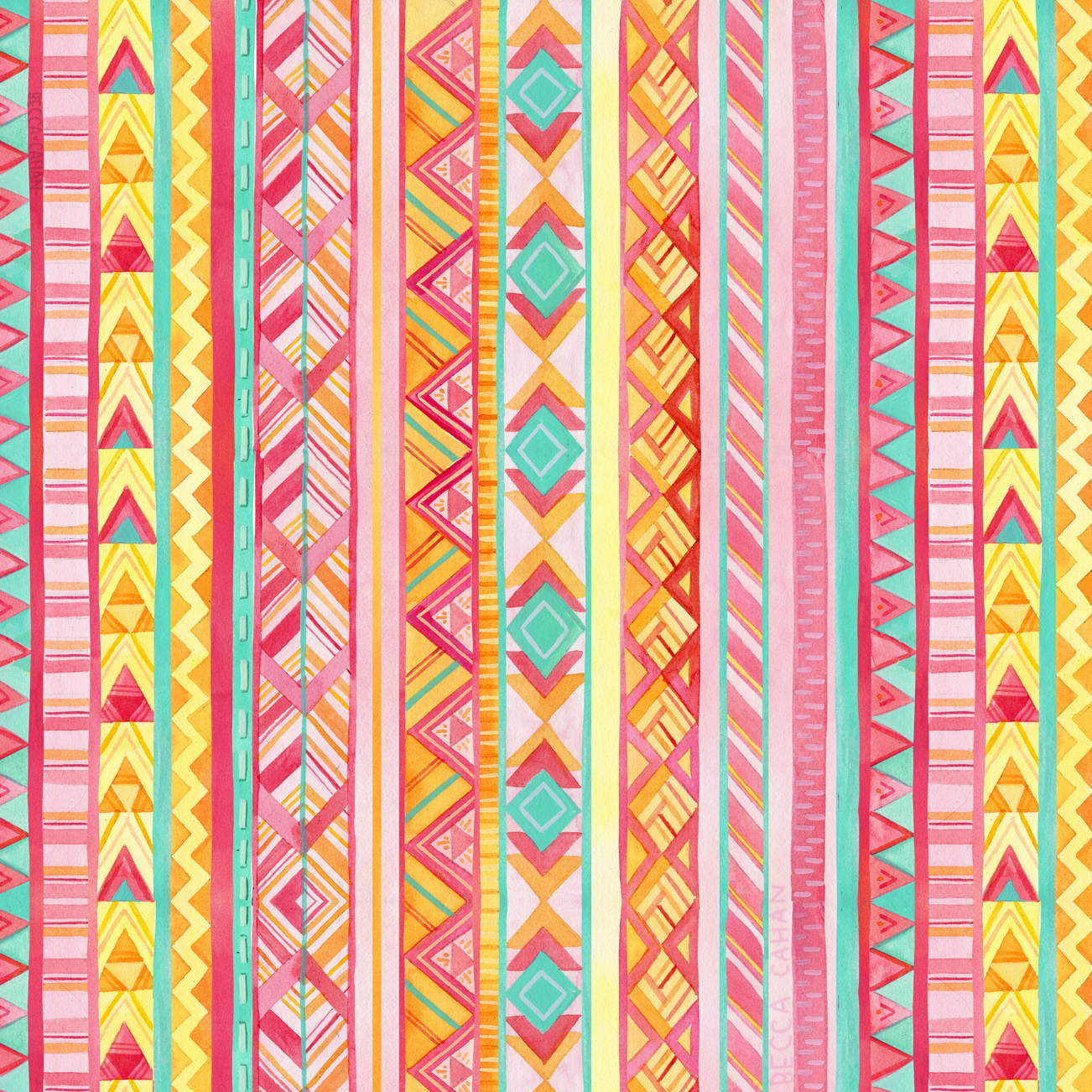 """""""Spring Forward"""" pattern by becca cahan"""