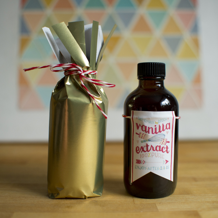 Becca Cahan's Vanilla Extract