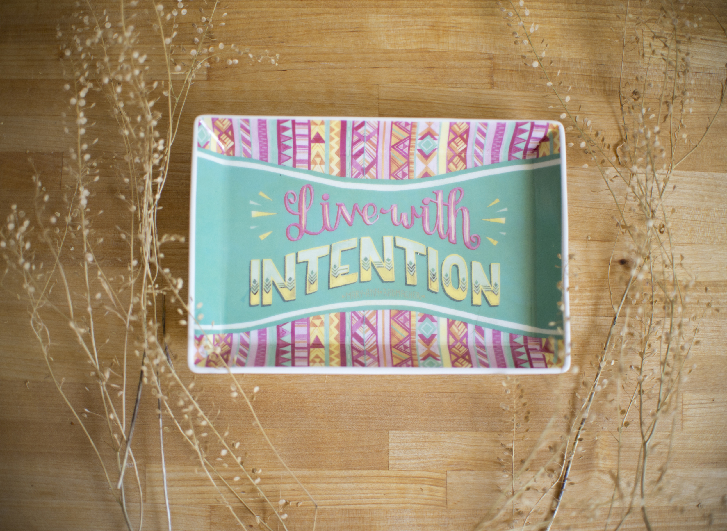 """""""Intention"""" Studio Oh! trinket dish by Becca Cahan"""