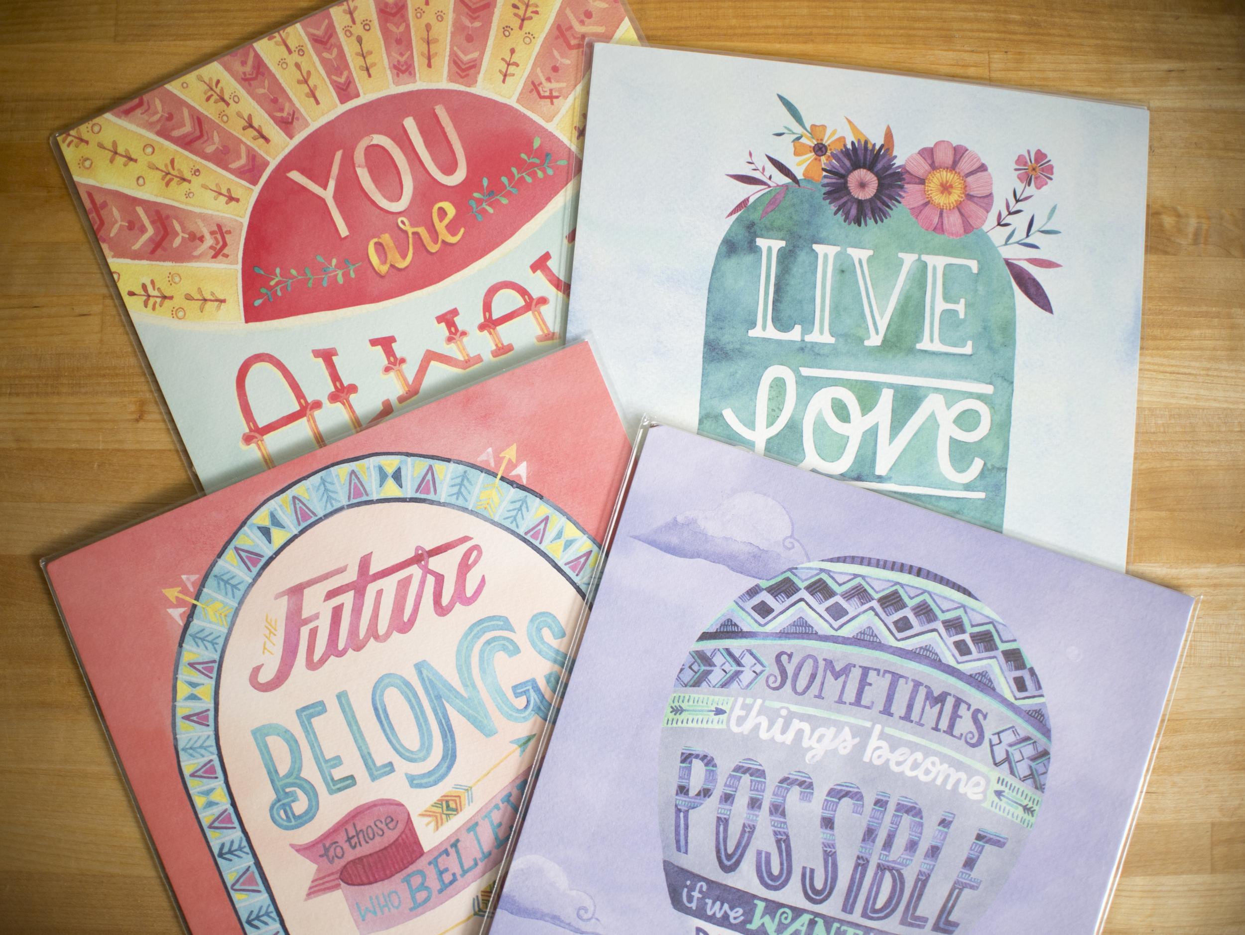 Studio Oh! art prints by Becca Cahan