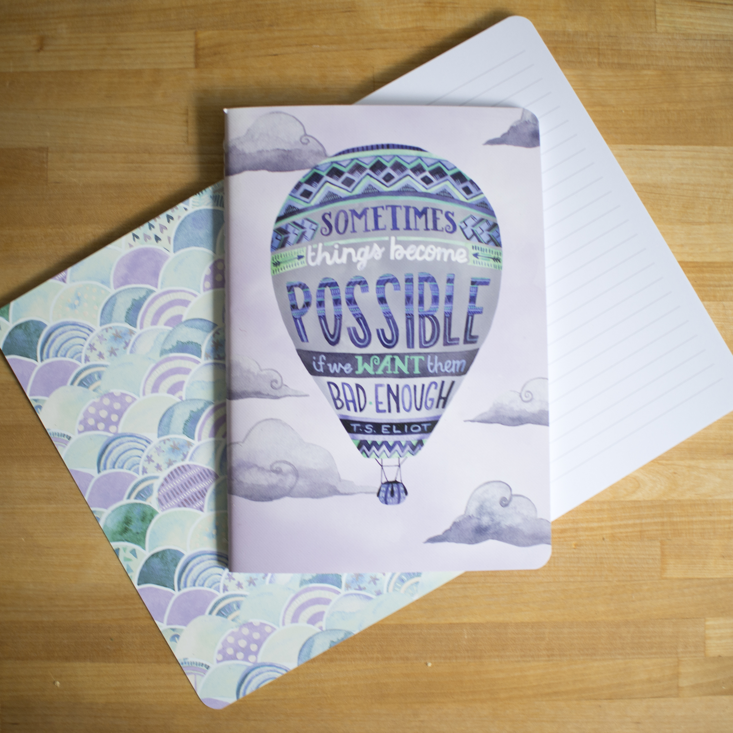 Becca Cahan for Studio Oh! // Be Yourself Notebook Trio