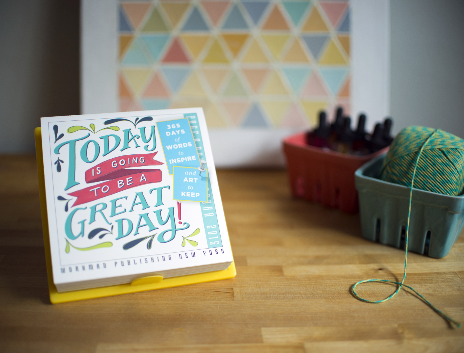 picture regarding Page a Day Calendar named 2015 PageADay Becca Cahan