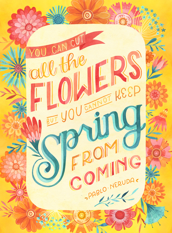 """""""Spring is Coming"""" by becca cahan"""