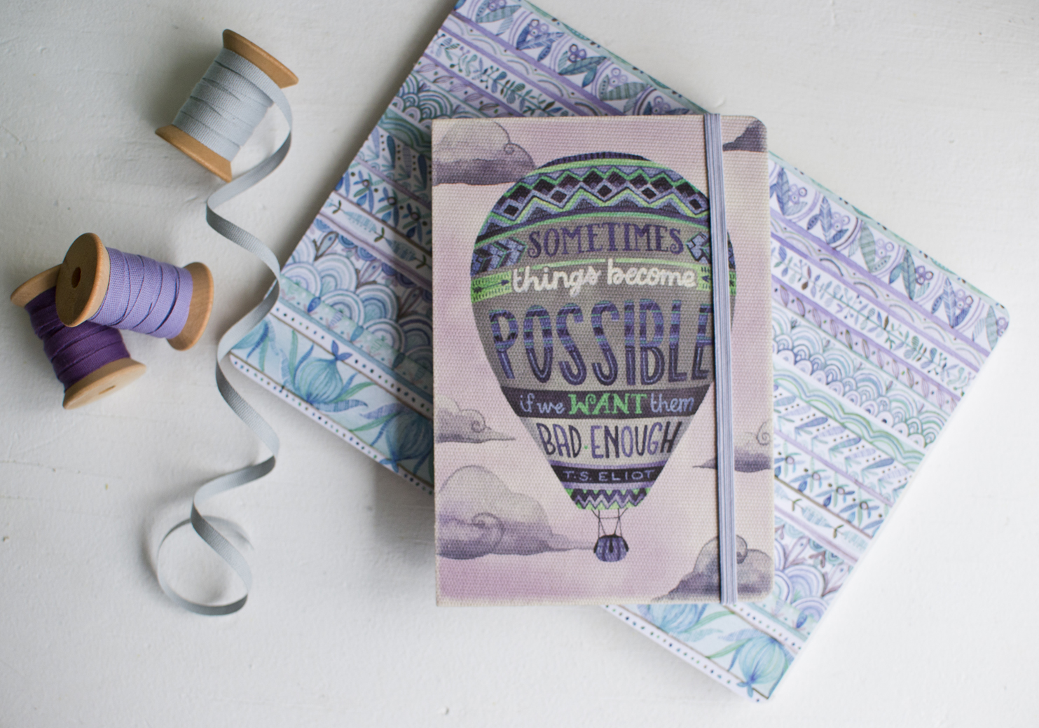 """Becca Cahan for Studio Oh! // """"Things Become Possible"""" Deconstructed 2015-2016 Planner"""