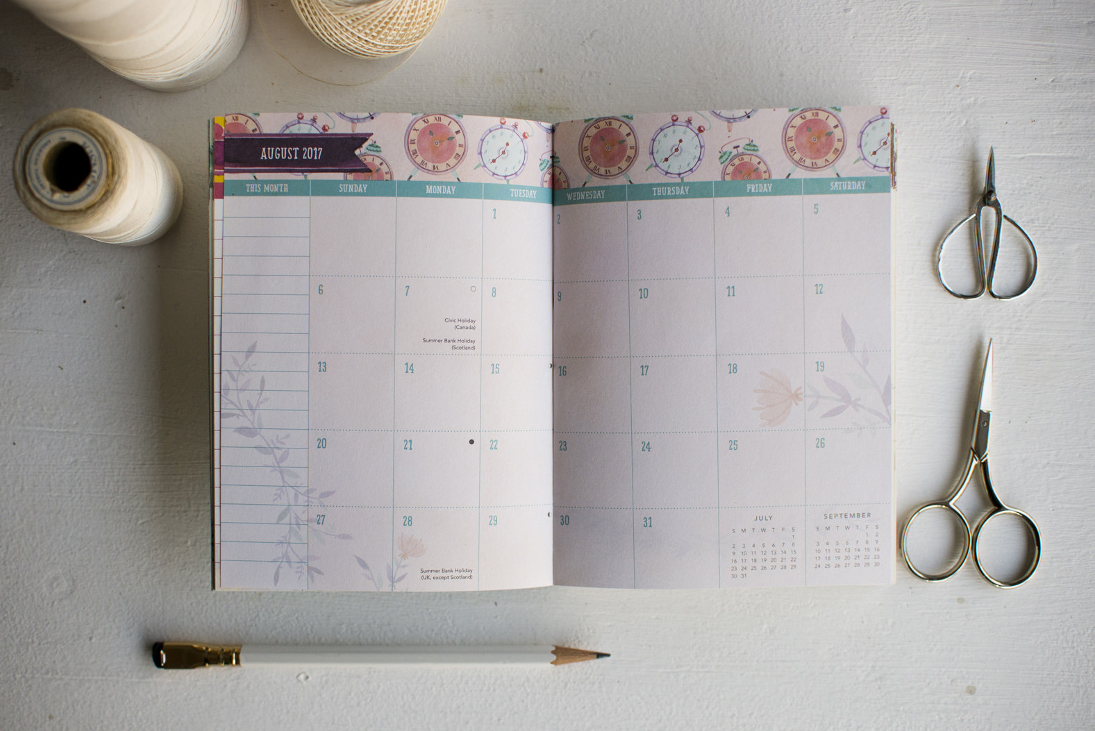 Becca Cahan for Studio Oh // 2017 Be Yourself TMWY Planner
