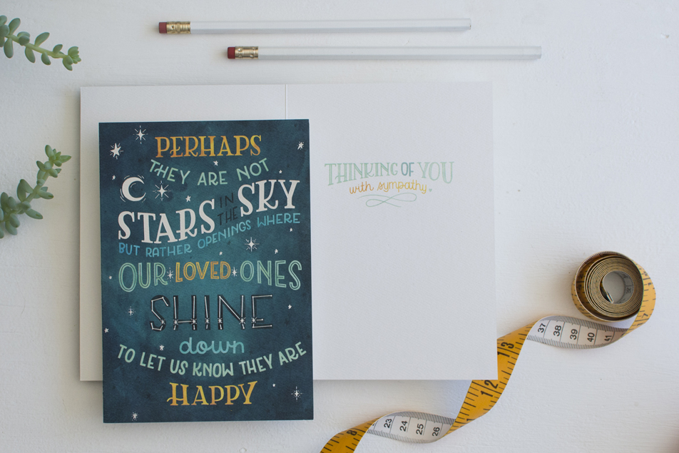 Greeting Card Illustration by Becca Cahan for RSVP Sellers