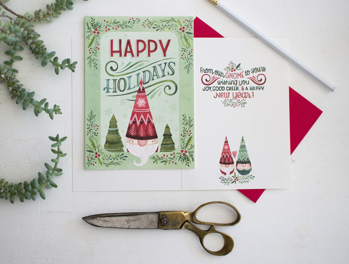 Becca Cahan x Design House Greetings for Trader Joes
