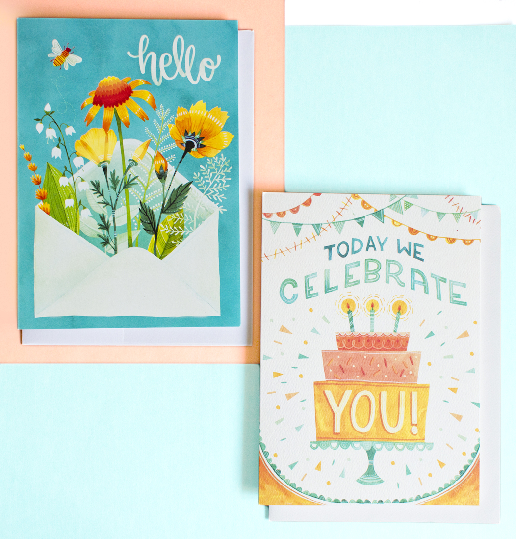 Becca Cahan, Illustrations for Trader Joes x Design House Greeting
