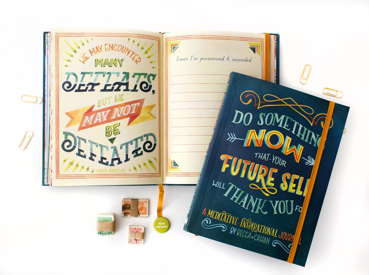 """""""Do Something Now"""" Sellers Publishing Guided Journal by Becca Cahan"""