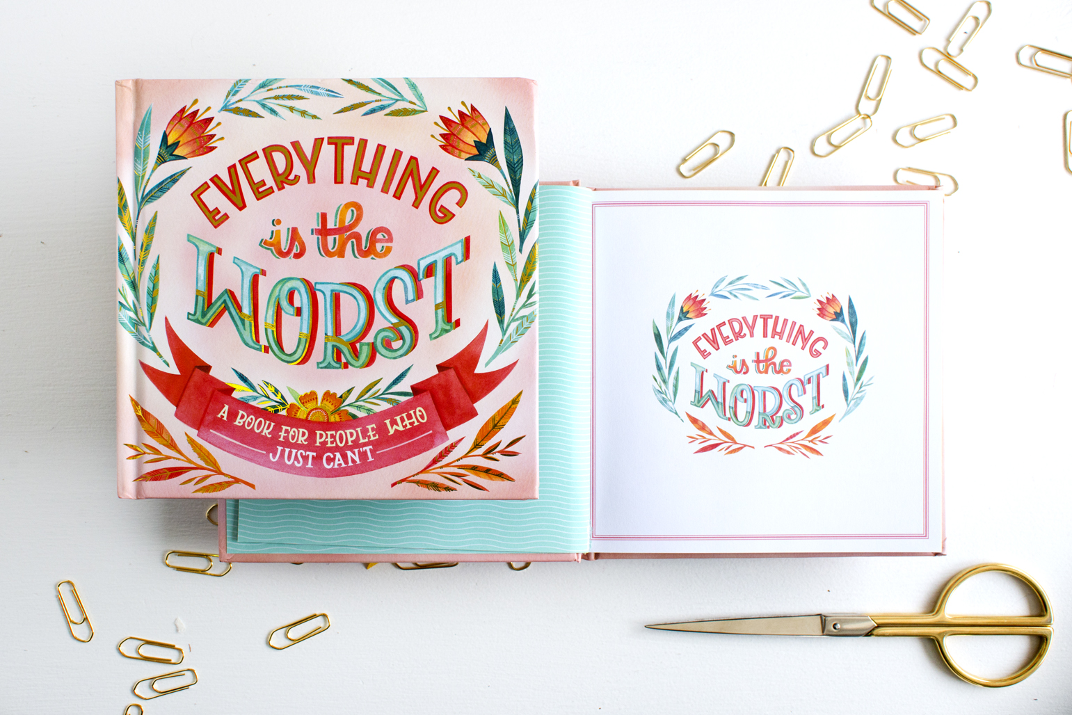 """""""Everything is the Worst"""" Workman Publishing Book // Illustration by Becca Cahan"""