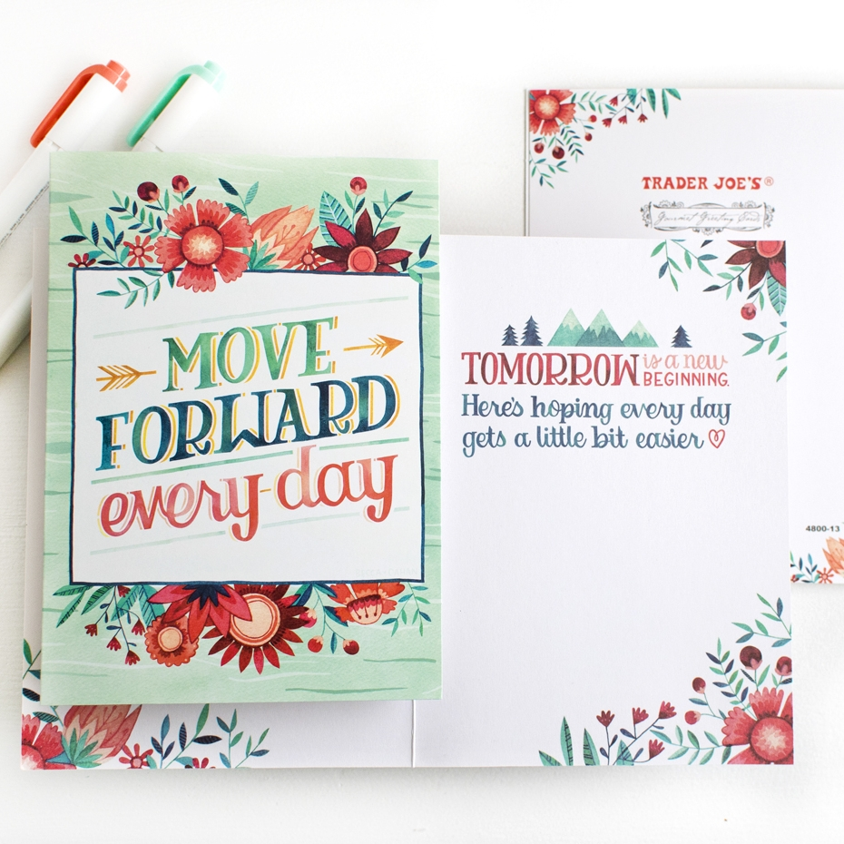 Becca Cahan Illustration for Design House Greetings X Trader Joes Exclusive