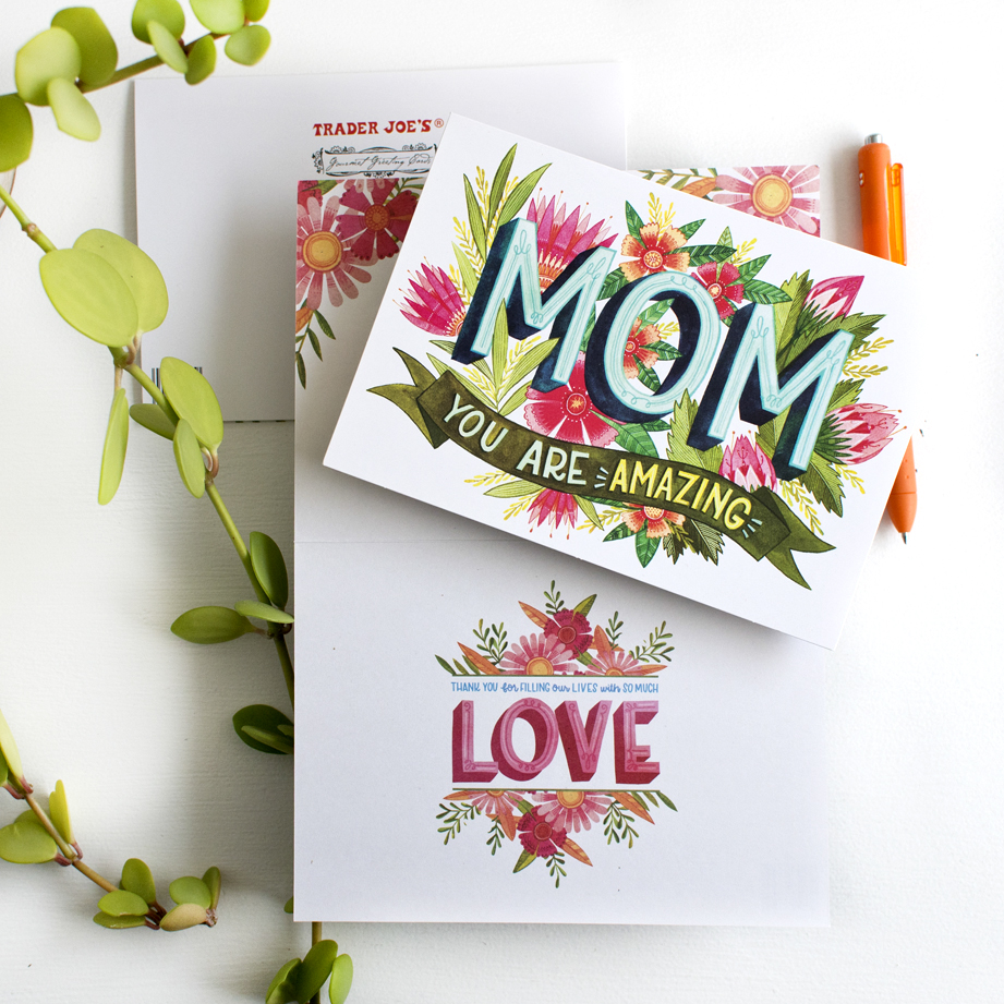 Becca Cahan for Trader Joes X Design House Greetings Exclusive