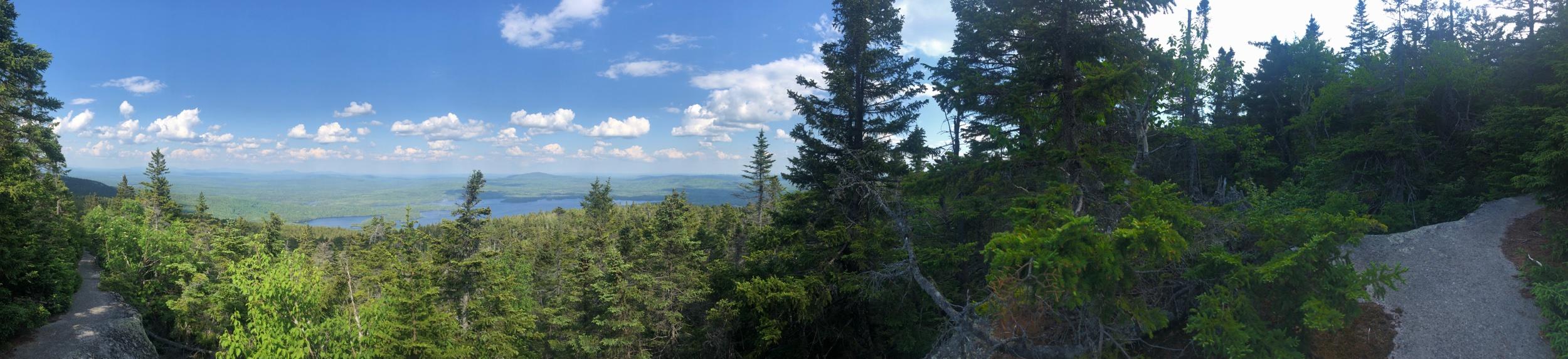 Climbing Moxie Mountain