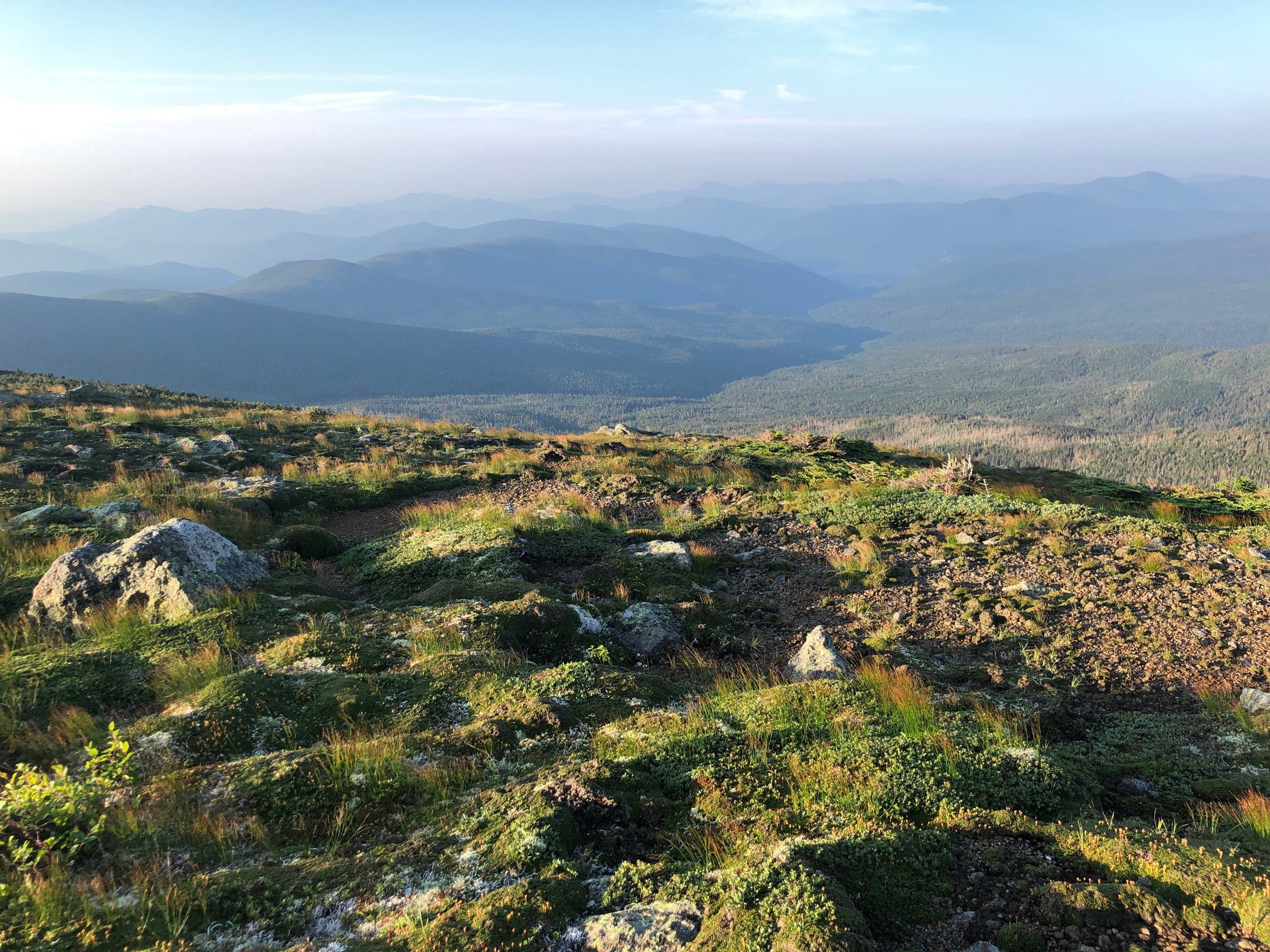 Going Down Mt. Washington