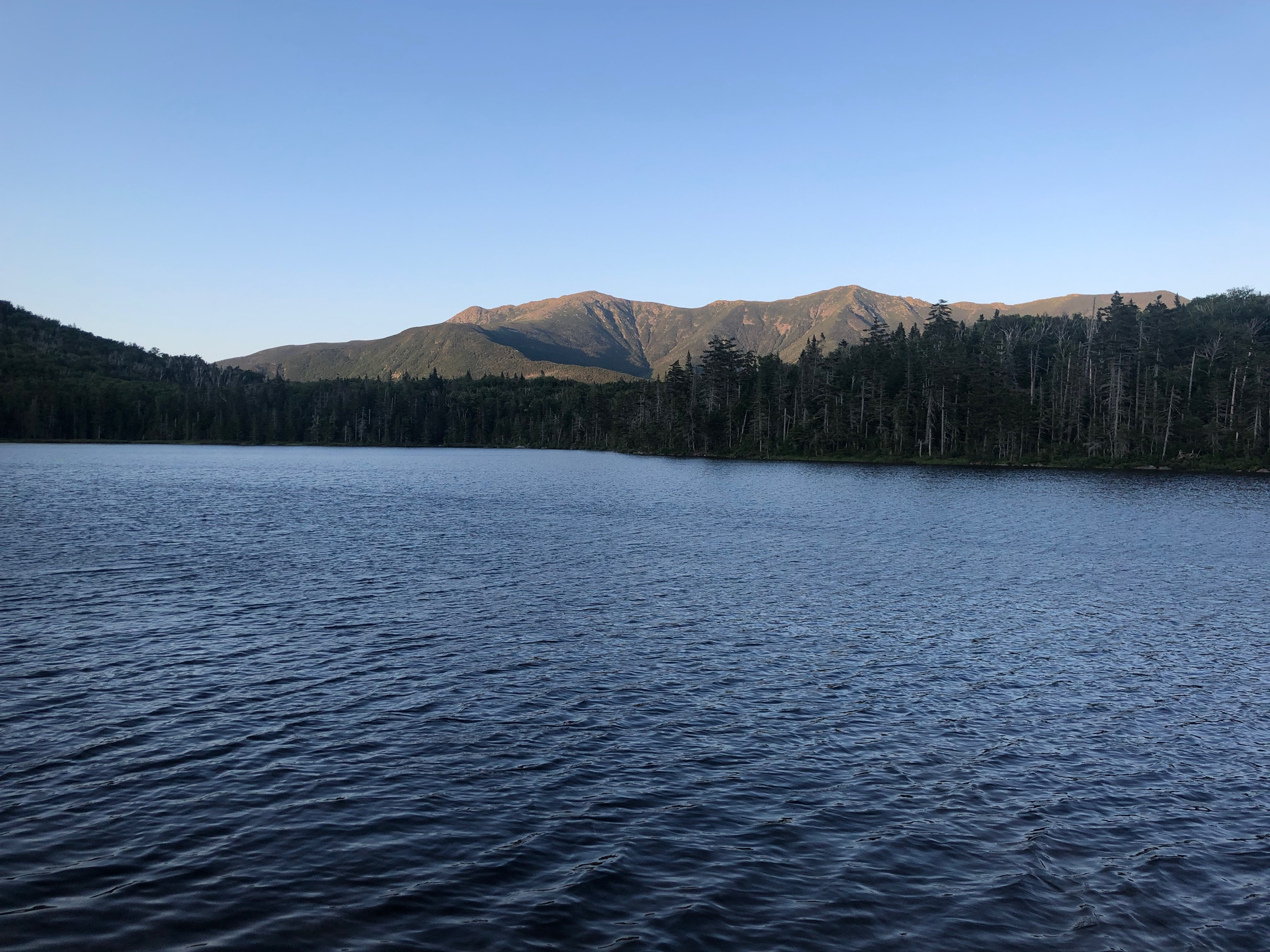 Franconia Ridge from Lonesome Lake