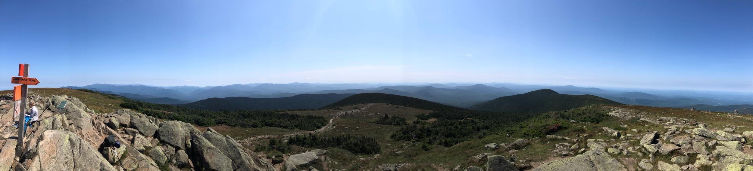 The Summit of Mt. Moosilauke