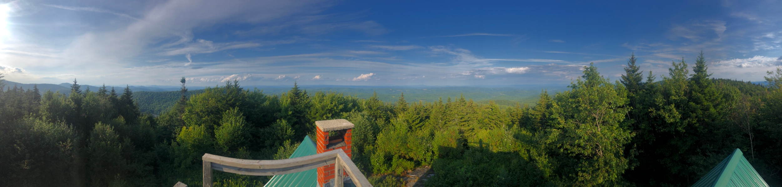 The View from Atop The Lookout