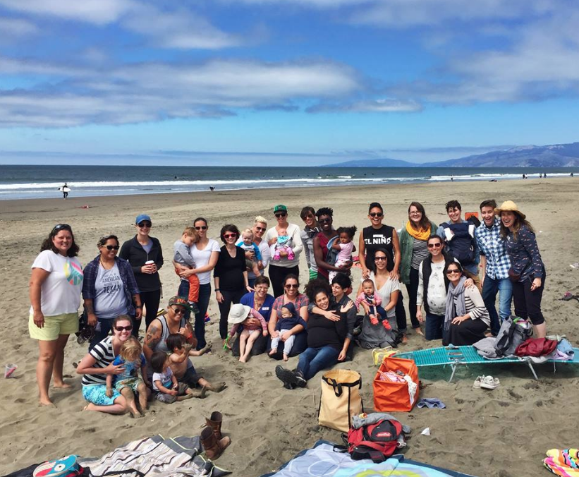 Queer Mamas* Ocean Beach Meetup! So much fun!