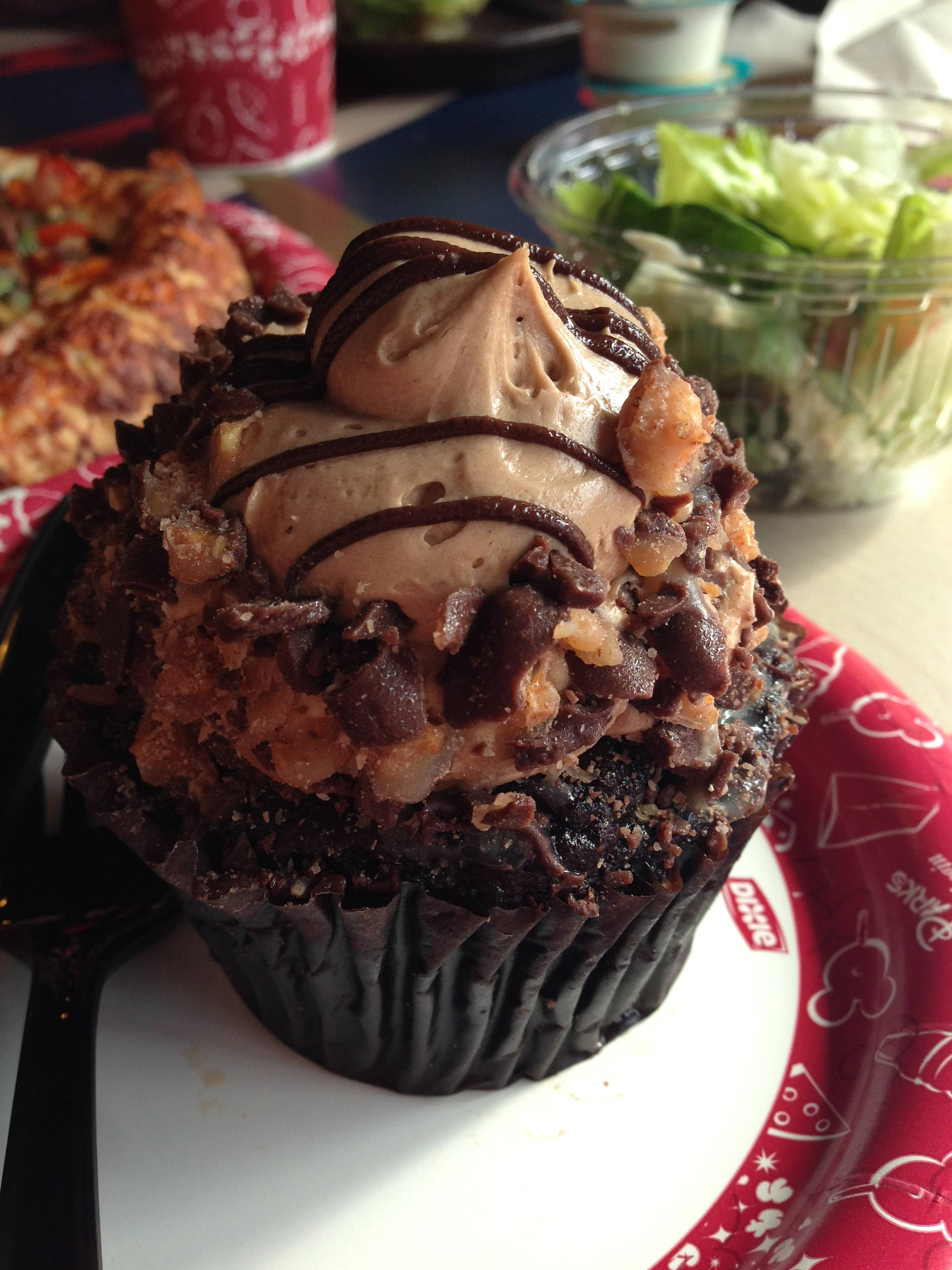 Cappuccino Cupcake from Toy Story Pizza Planet at Disney's Hollywood Studios.
