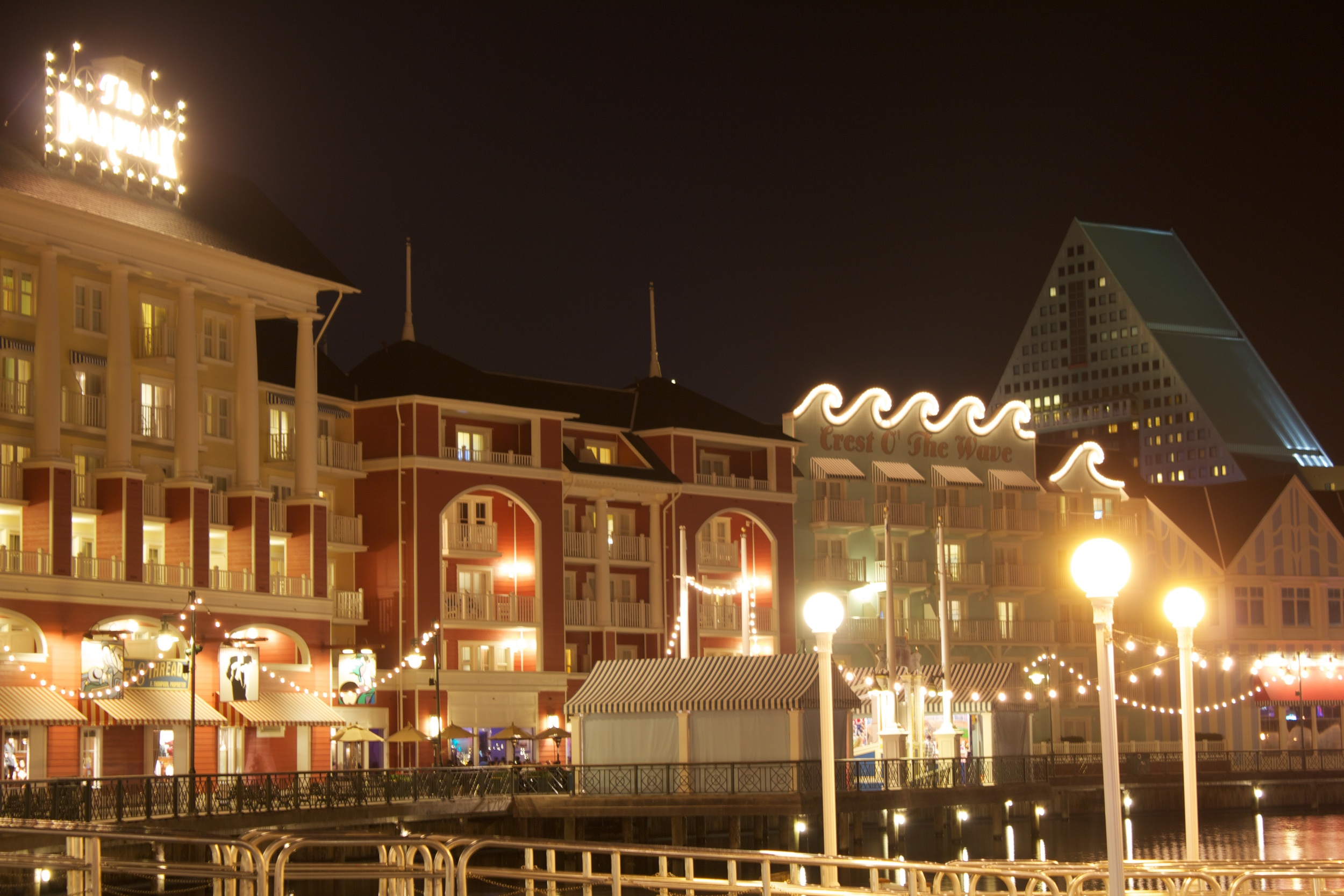 Disney's Boardwalk is one of the most immersive resorts on property. It blends a resort with shopping, dining and a convenient way to get to Epcot.