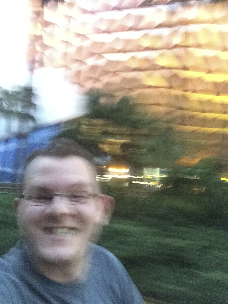 My second win hit right as I crossed back into Epcot. No time for a proper photo; the finish line is so close!