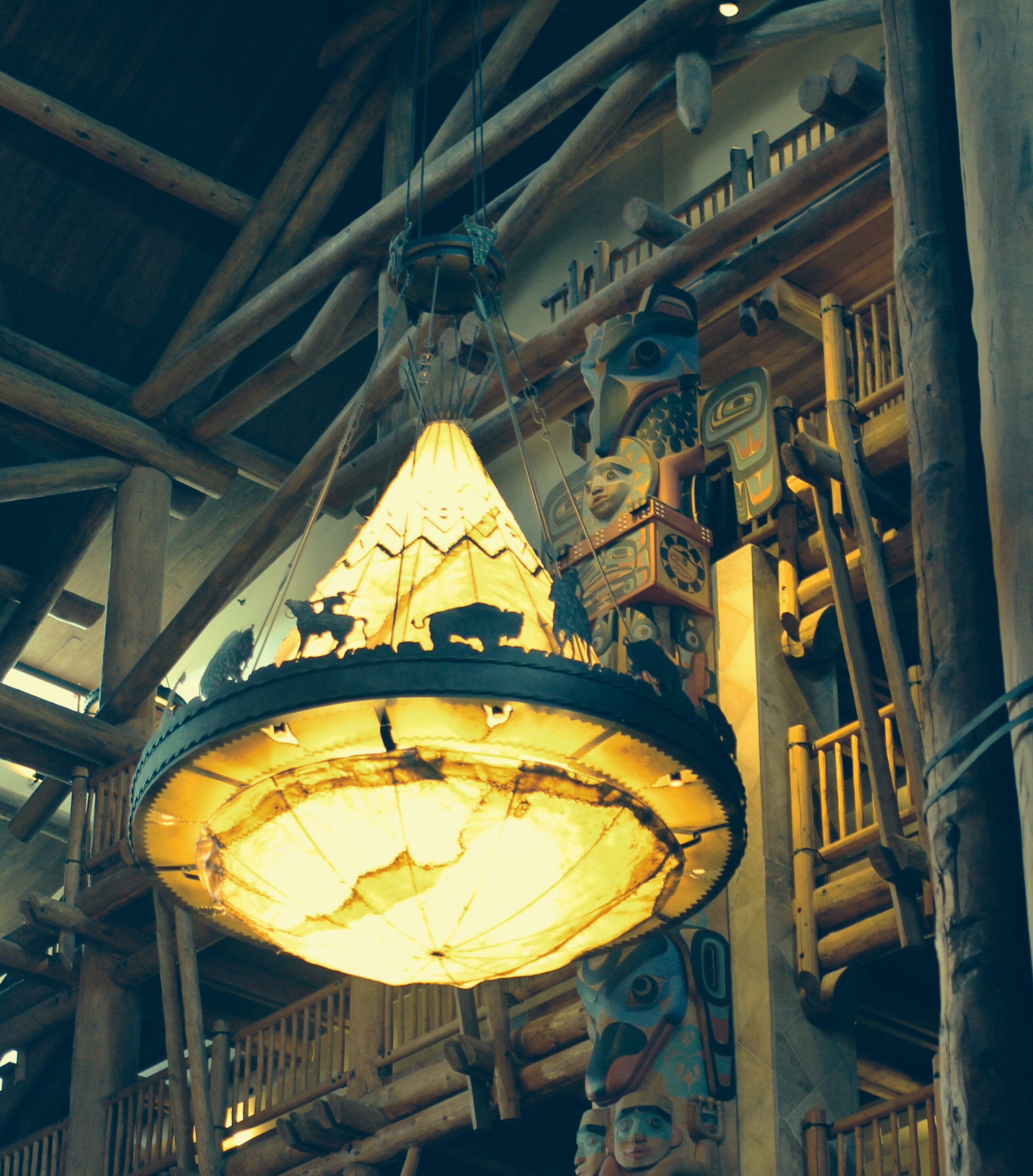 """Disney's Wilderness Lodge seemed the most """"theme appropriate"""" for a pre-Christmas trip!"""
