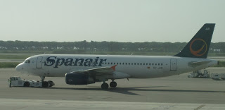 And the new livery...this one spotted at BCN