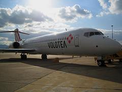 Volotea, taking off on 5th April (Picture: Volotea)