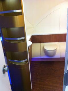 First class toilet