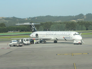 Spanair's fleet was initially made of MD-83s, some of these have remained with the carrier until the end