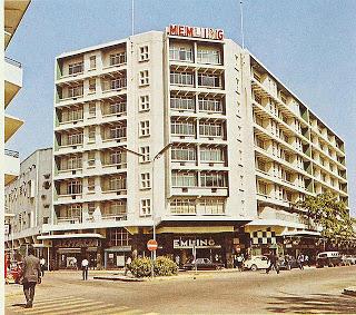 Sabena hotel in Kinshasa. Picture:  Warren Long (cc license)