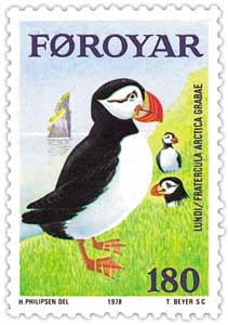 The other thing that flies in the Faroe Islands. Picture:  Wikipedia