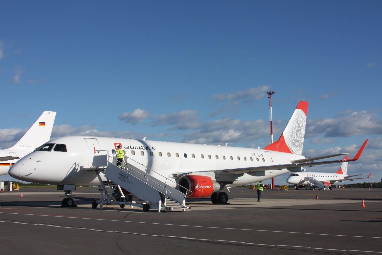 Air Lituanica's second Embraer E175