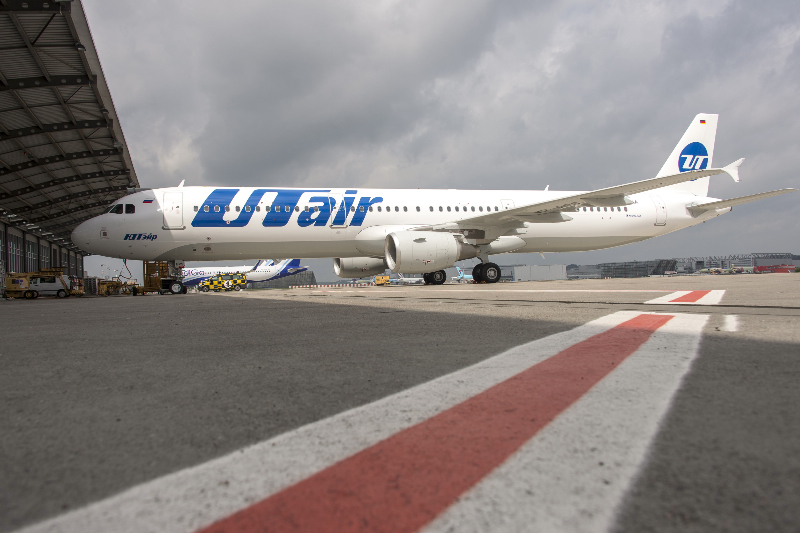 One of UTair's new A321s ready for delivery