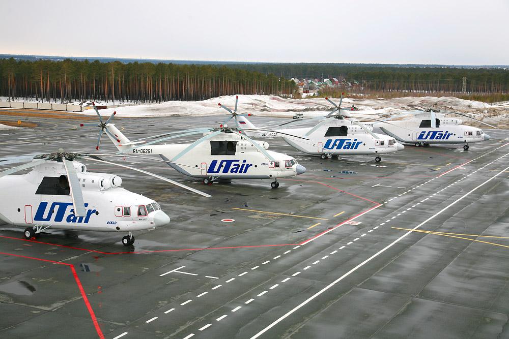 UTair helicopters link communities across Siberia