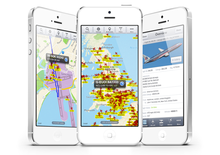Flight-tracking: not only for avgeeks
