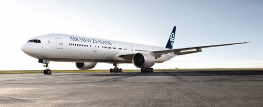 Who wants to see some ice? Picture: Air New Zealand