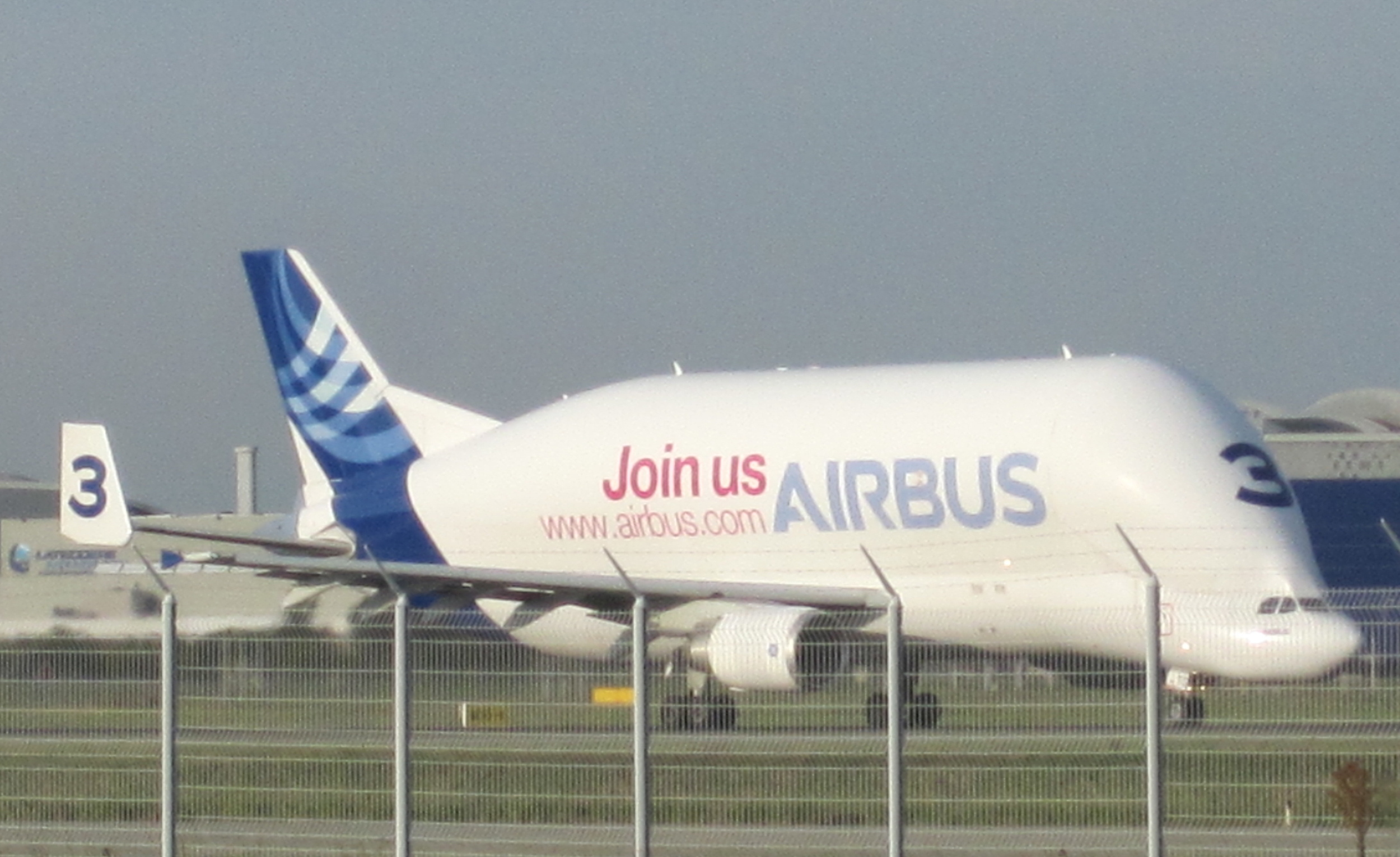 Always impressive! If you want to know more about this amazing aircraft, check this article about the time when I got  on-board one of Airbus' Belugas !