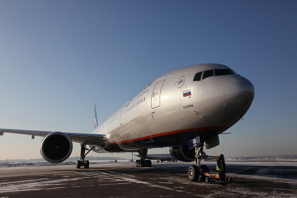 Pole position goes to flag carrier Aeroflot, of course, with 20,902,447 passengers (+18.4% up). Picture: Aeroflot