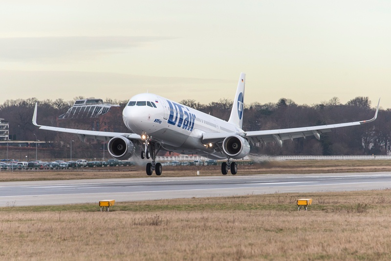 UTair's firs A321 with sharklets. Picture: UTair