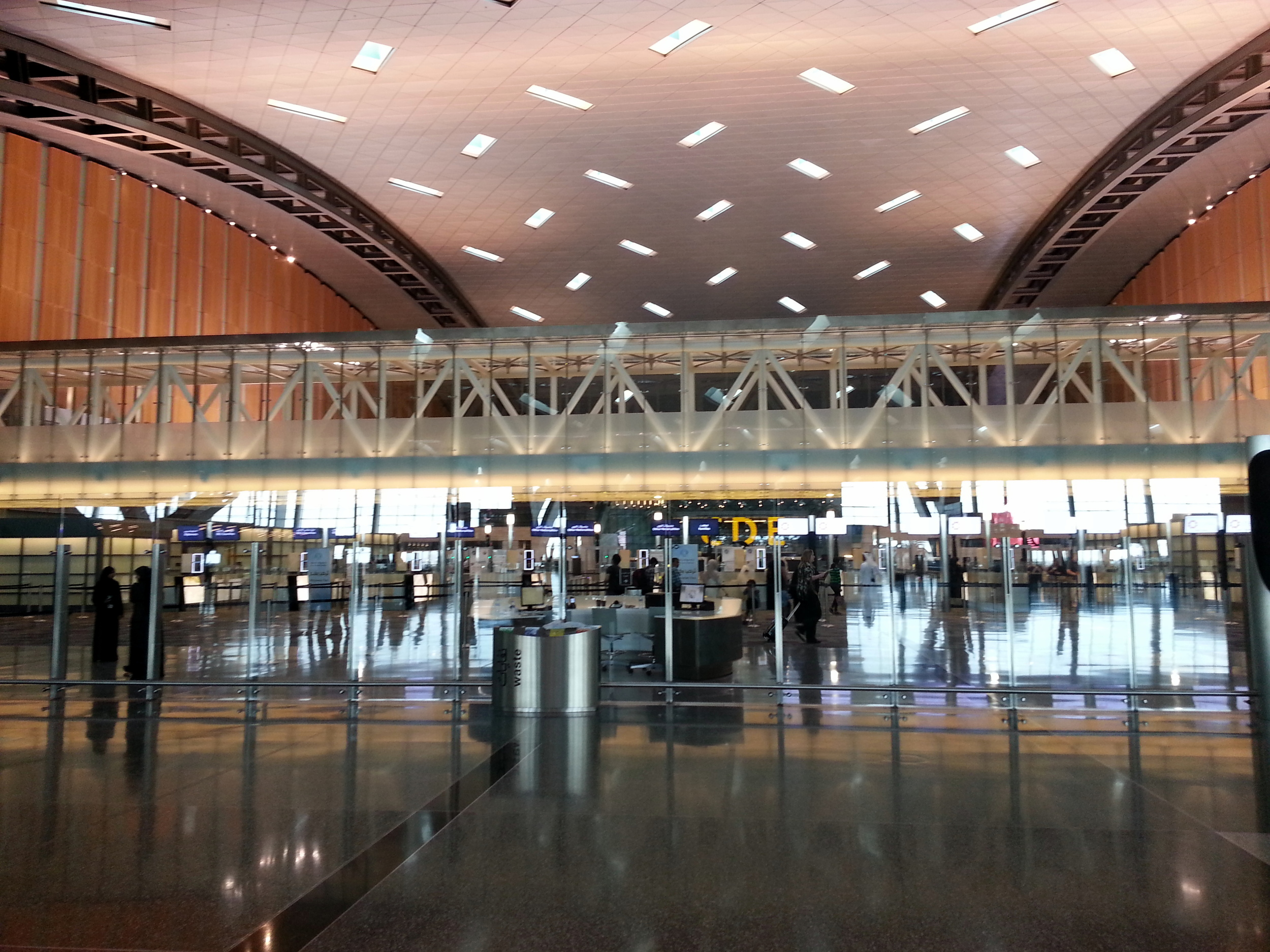 Qatar International airport hall