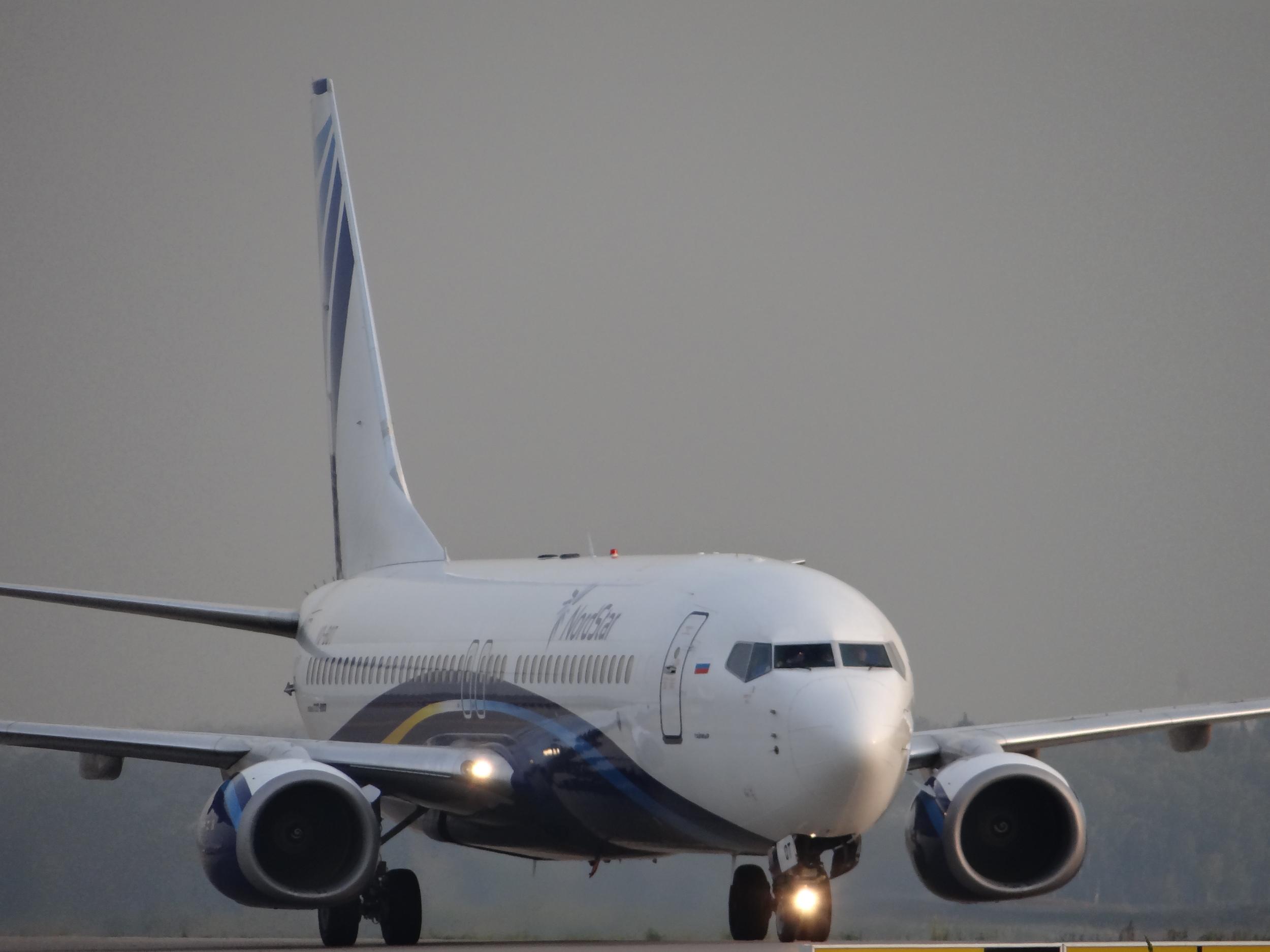 Nordstar Boeing 737 closing up
